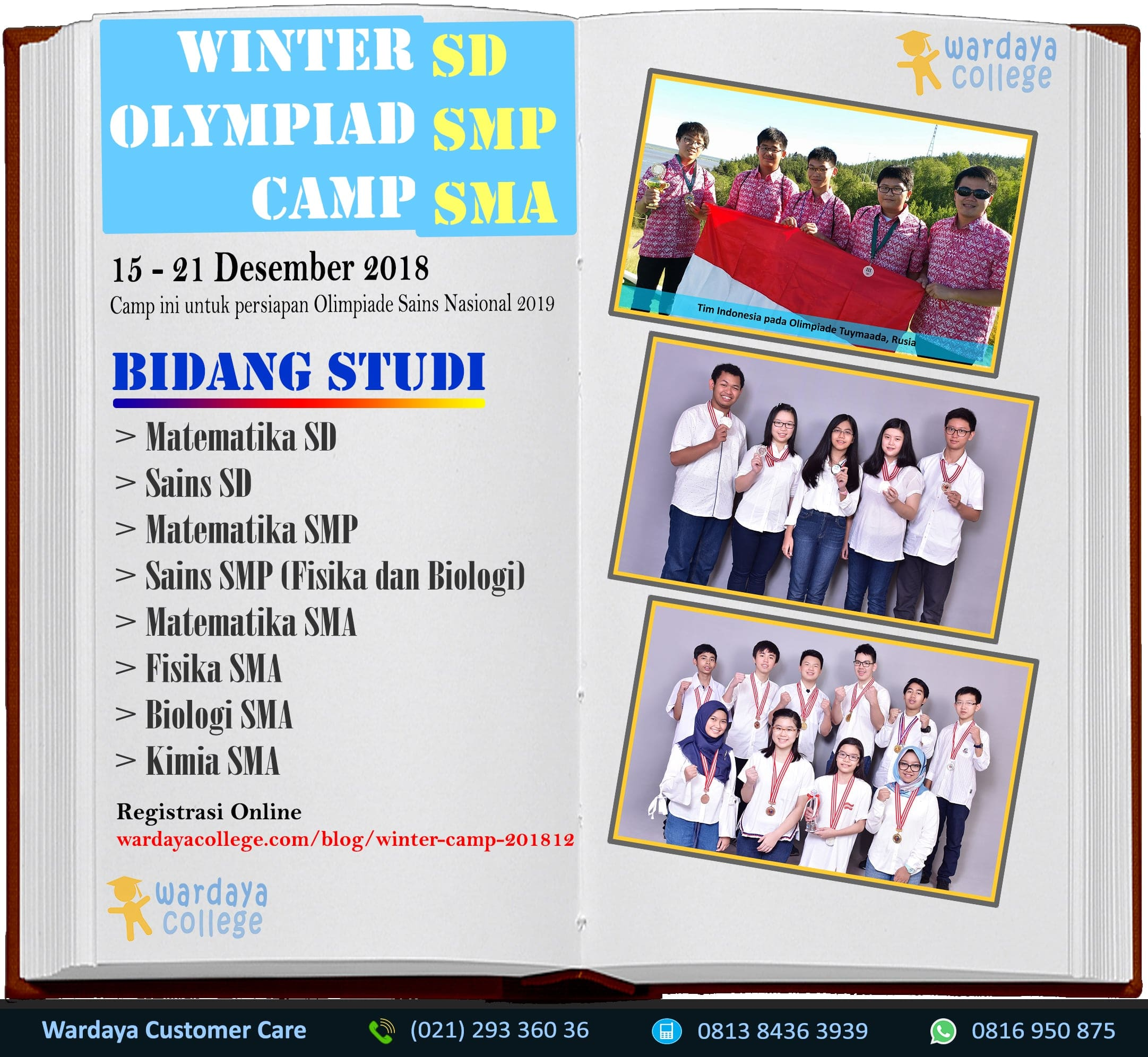 Kelas Olimpiade OSN 2018/2019 - Winter Olympiad Camp